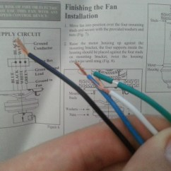 Wiring Diagram For 3 Speed Ceiling Fan Switch Ansul Micro Electrical How Do I Wire This Home