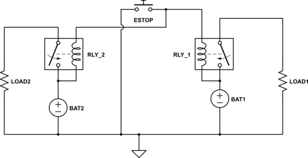 mk emergency key switch wiring diagram for ac thermostat start and batteries stop button to disconnect two