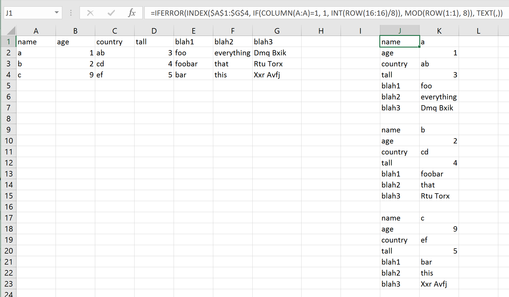 Convert Columns To Separated List In Excel