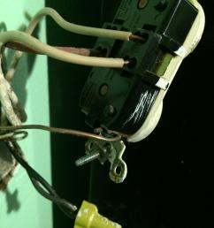 electrical how do i install a gfci receptacle to replace an old gfci electrical outlet wiring note ground wires not shown [ 2448 x 3264 Pixel ]