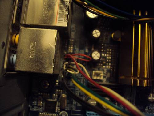 small resolution of  enter image description here from front panel comes these wires
