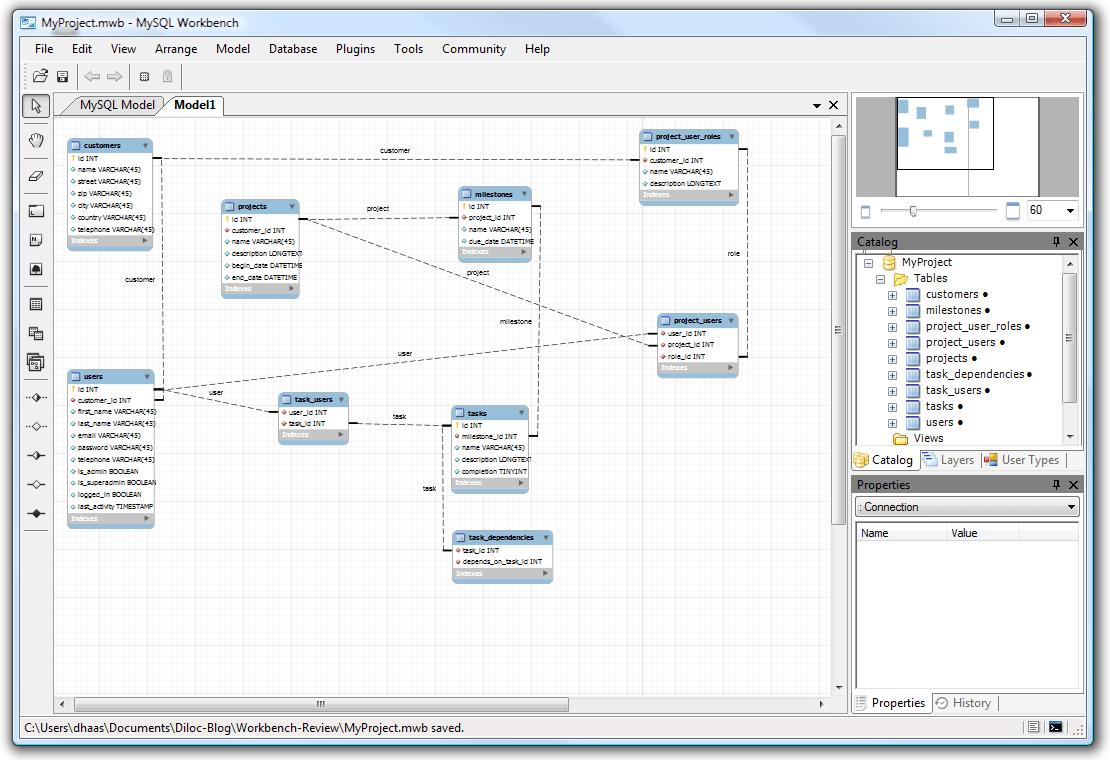 hight resolution of mysql workbench tutorial eer diagram relationship