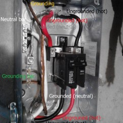 Main Panel To Sub Wiring Diagram Push Button Switch Electrical What Is Wrong With This Home Labeled Image