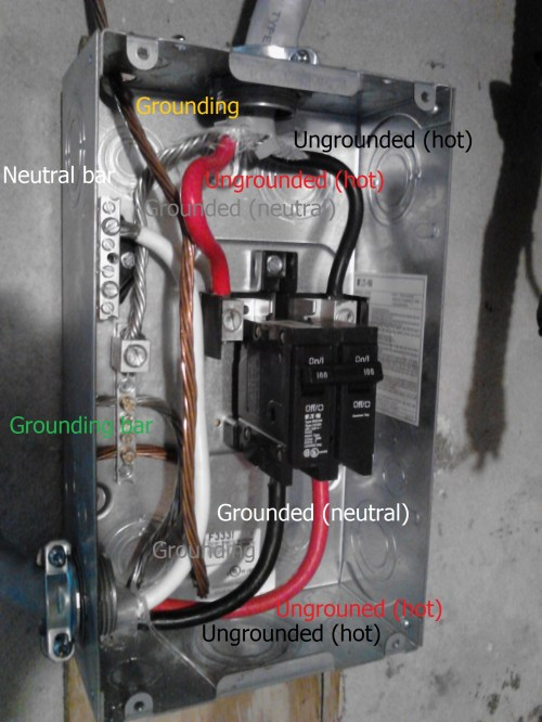 small resolution of electrical what is wrong with this panel wiring home sub and amp wiring diagram home wiring a sub