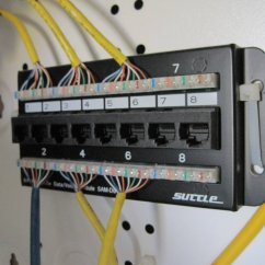 Wiring Diagram For Cat5 Patch Panel Doorbell Schematic How To Use Network In New House