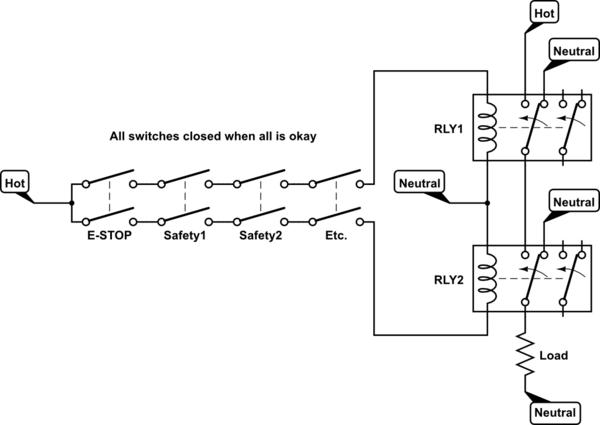 Start Stop Motor Control Diagram