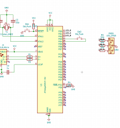 how can i program an atmega32u4 over usb with this schematic  [ 1513 x 1254 Pixel ]