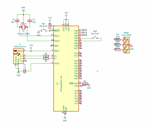 small resolution of how can i program an atmega32u4 over usb with this schematic