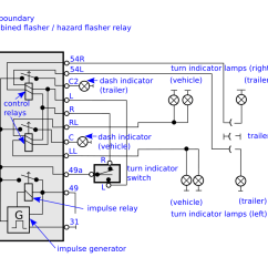 4 Pin Flasher Relay Wiring Diagram Ford 3000 Tractor Parts How To Connect A 11 So That Turn Signal
