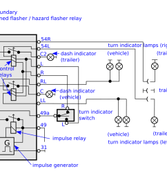 how to connect a 11 pin flasher relay so that turn signal dash rh mechanics stackexchange com 2 prong flasher wiring diagram electronic flasher wiring  [ 1024 x 773 Pixel ]