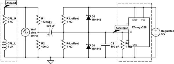 ac voltage measurement circuit