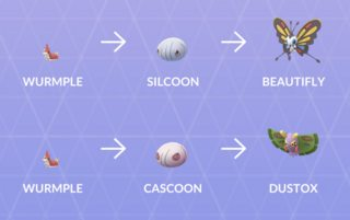 Wurmple Evolutions