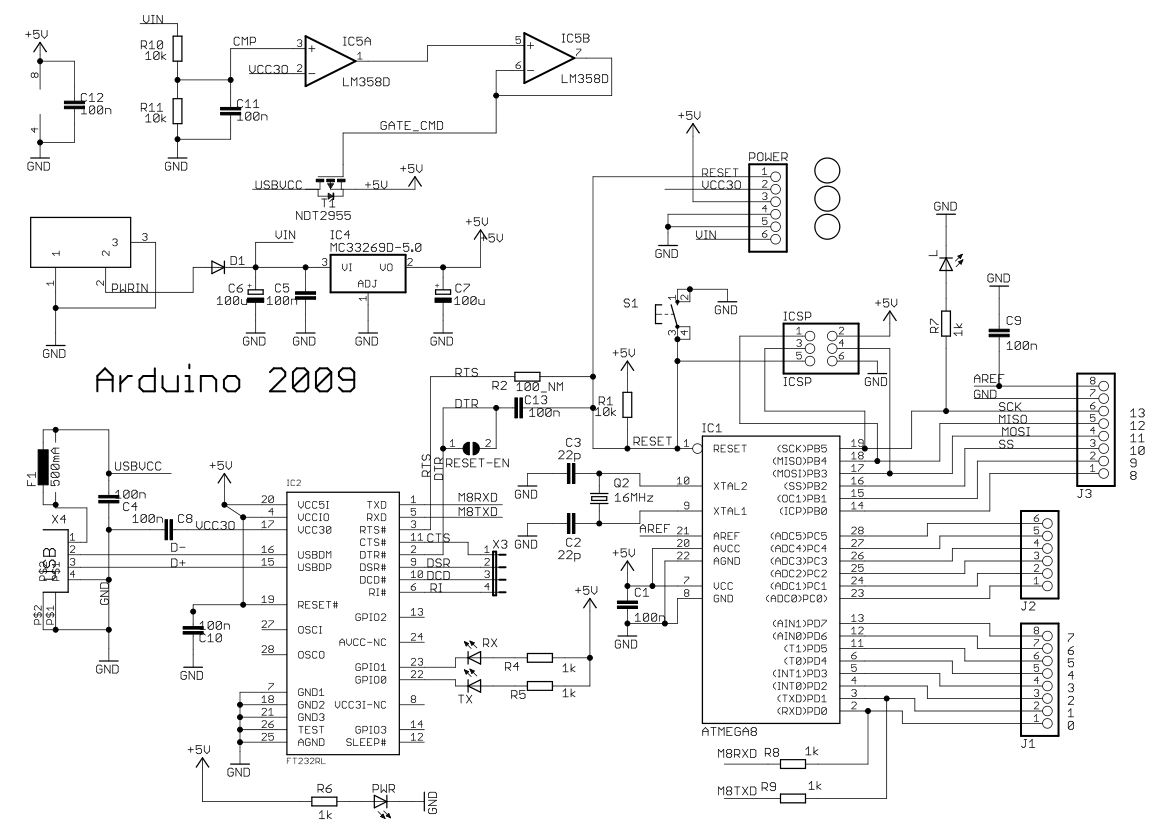 arduino mega 2560 circuit diagram power inverter wiring where are these capacitors on the