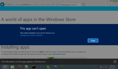 Windows 10 can't open Windows Store or can't download apps