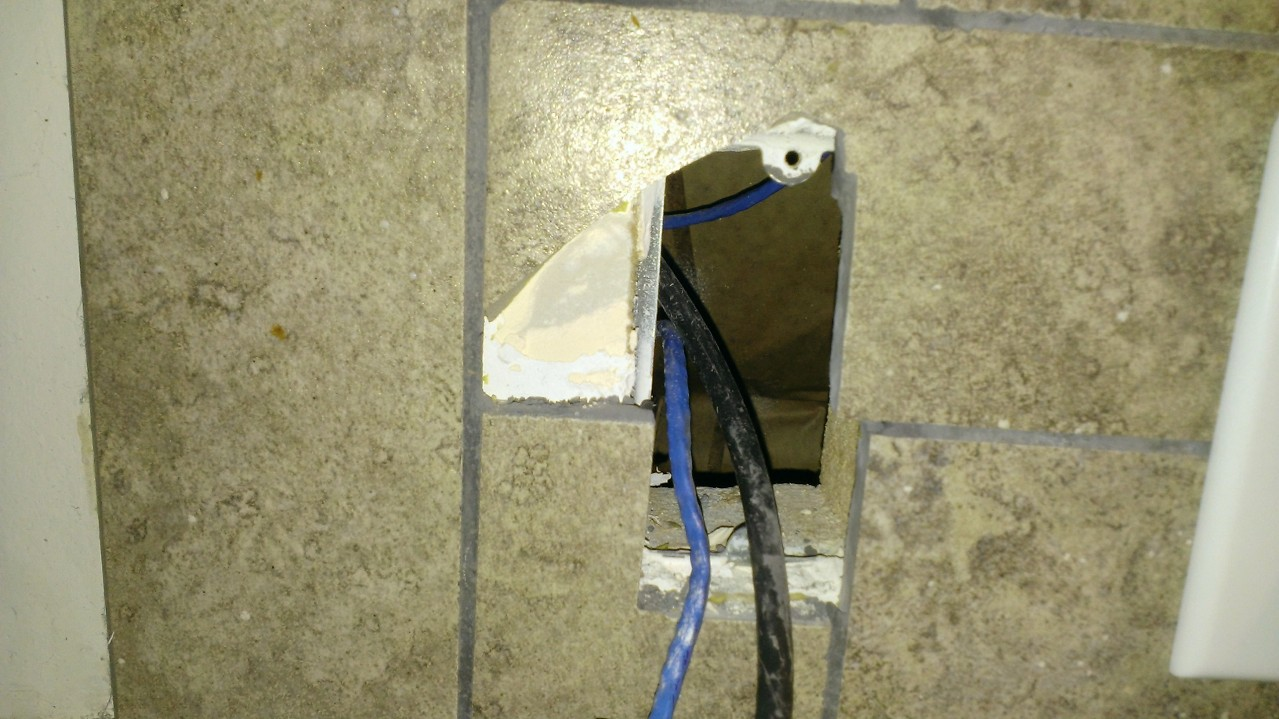 How do I properly cut preexisting kitchen backsplash tile