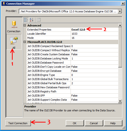 how to create configuration file in ssis