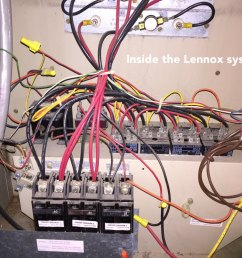 how to add a c wire to an old lennox system home improvement stack blower motor wiring diagram lennox furnace with honeywell wiring diagram [ 1600 x 1200 Pixel ]
