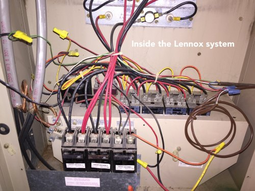 small resolution of how to add a c wire to an old lennox system home improvement stack blower motor wiring diagram lennox furnace with honeywell wiring diagram