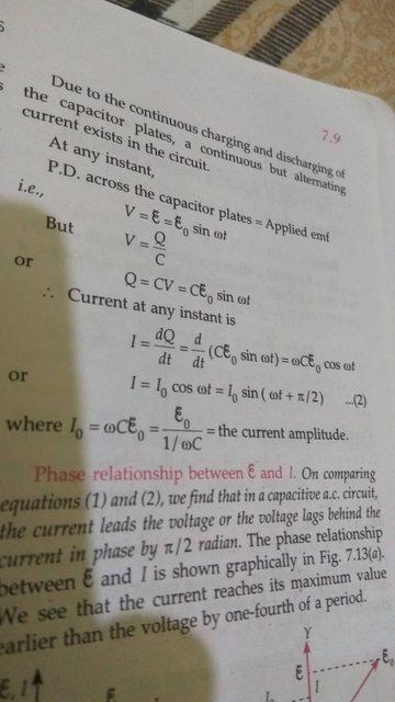 Capacitance In An Ac Circuit