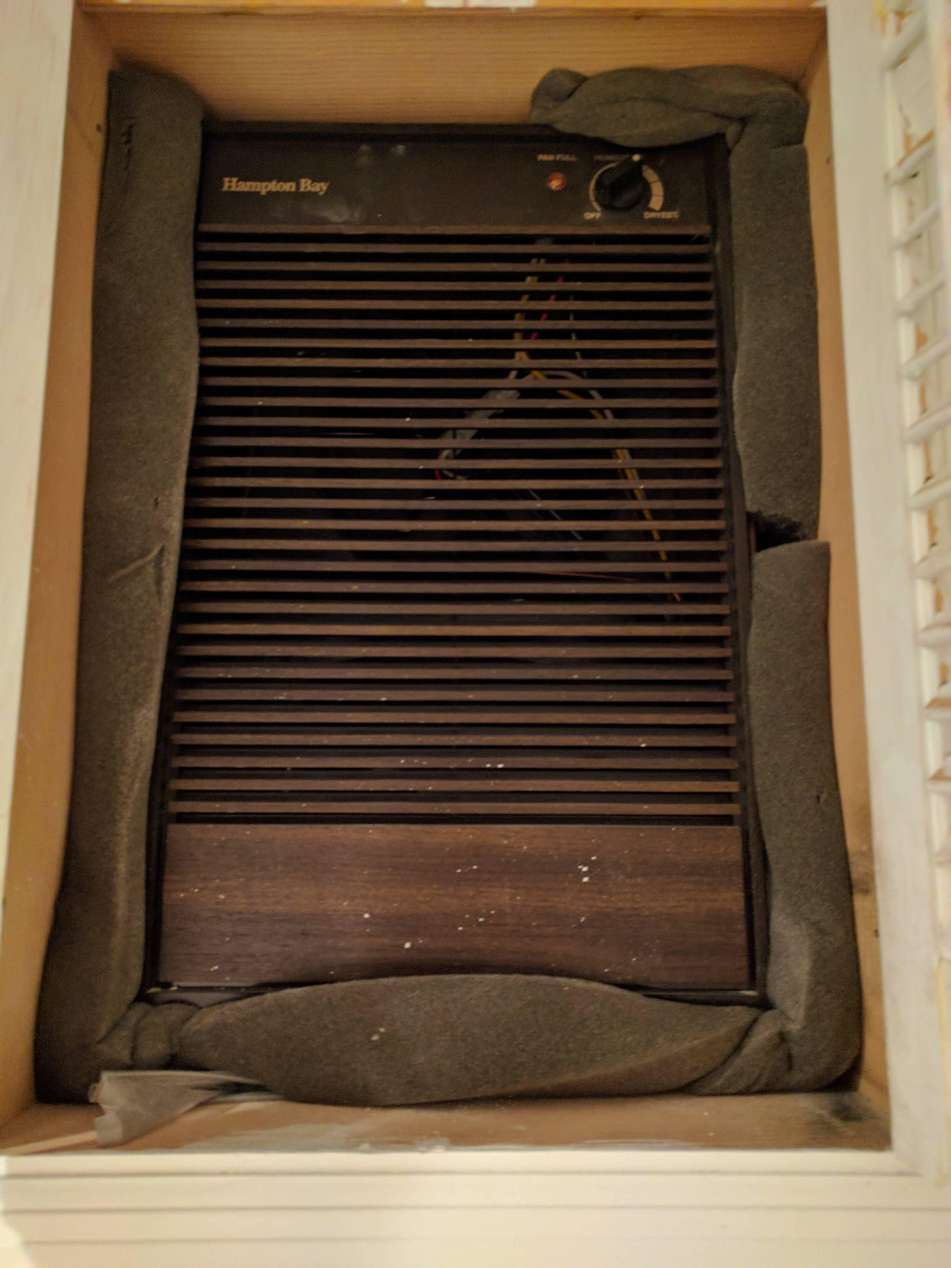 basement  Best replacement for broken inwall