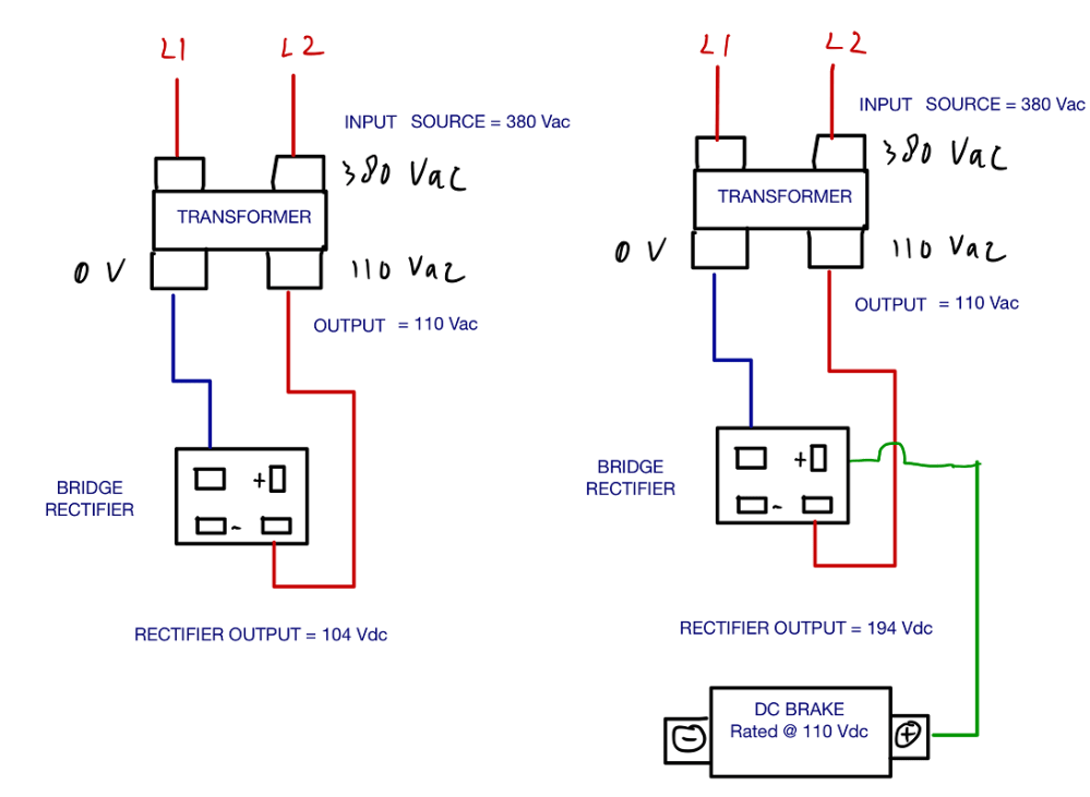 medium resolution of enter image description here rectifier bridge rectifier