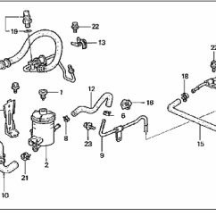 Honda Power Steering Diagram Uss Monitor Civic 1997 Fluid Leak Motor Vehicle Maintenance