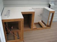 framing - Use cement board without plywood for outdoor ...