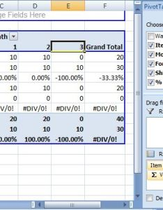 Enter image description here also why is grand total in excel pivot table div divide by zero on rh stackoverflow