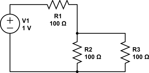 When using Thevenin's Theorem, why is R_thev of resistors