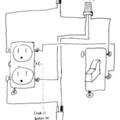 Gfci Switch Outlet Combo Diagram Wiring For Light Bar Electrical - How To Add A Box With One Controlled By Switch? Home Improvement ...