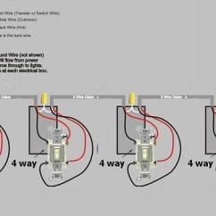 Wiring Diagram For 4 Way Light Switch Rheem Ac Unit Water How To Turn A Pump On Or Off From Any Of 12 Switches Home Multiple Four