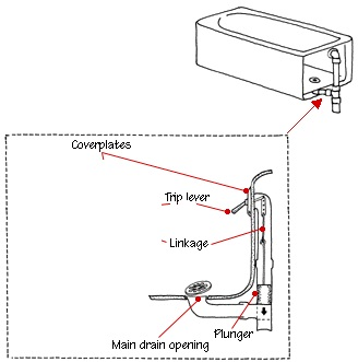 Image Result For Bathtub Drain Pipe Diagram