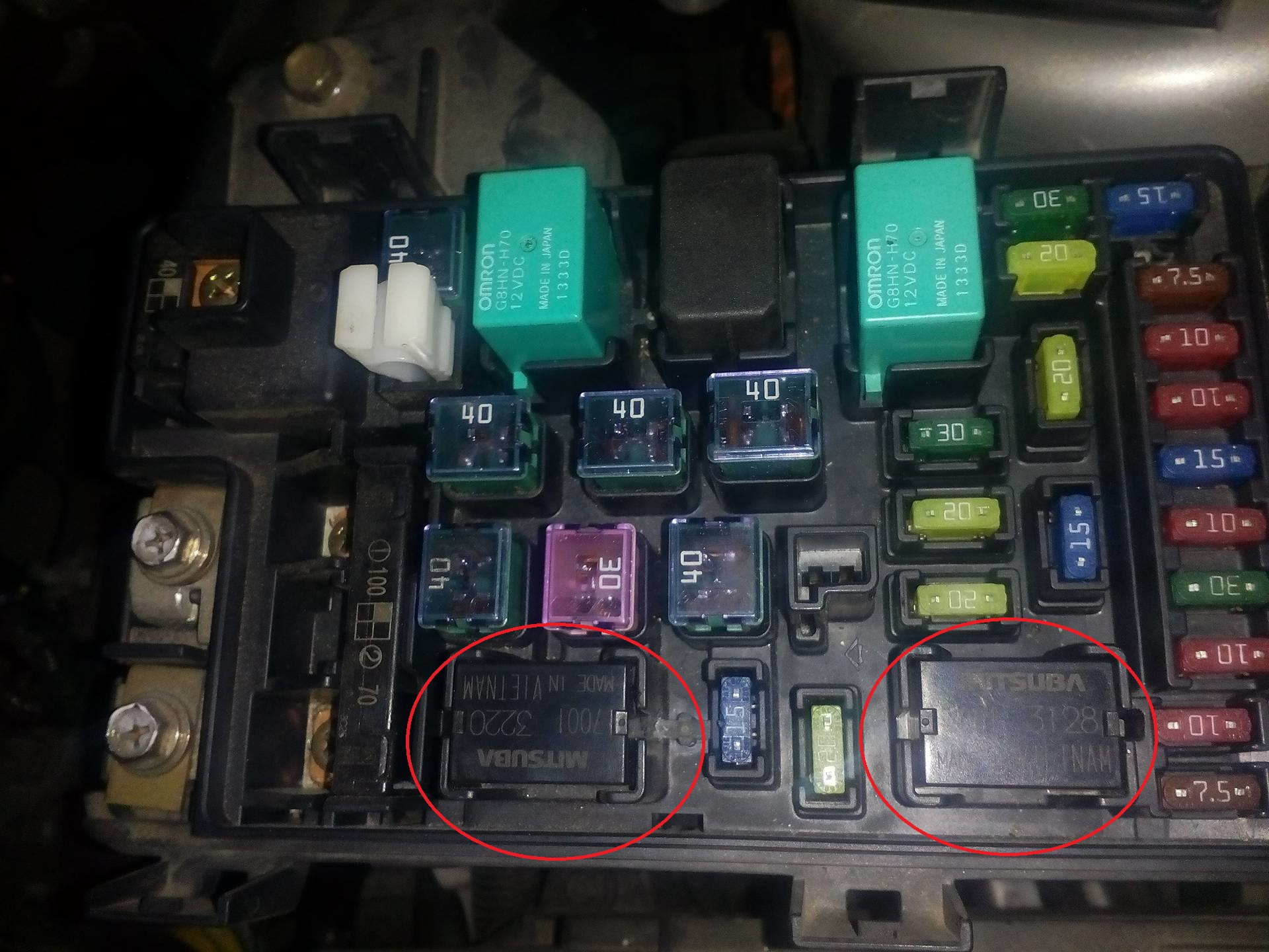 hight resolution of positions of relays in fuse box of honda accord 2003 motor vehicle 09 accord fuse box accord fuse box