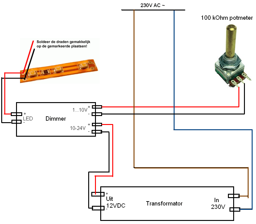 dimming - LED lamps with halogen dimmer - Electrical Engineering