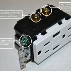 Plug In Wiring Diagram 12 Volt Subwoofer Electrical I M Replacing My Outlets And Have Too Many Hot Neutral Wires What Do