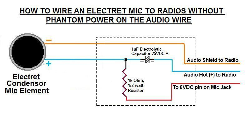 4 Pin Xlr Microphone Wiring Diagram Do Electret Microphones Have Polarity Electrical