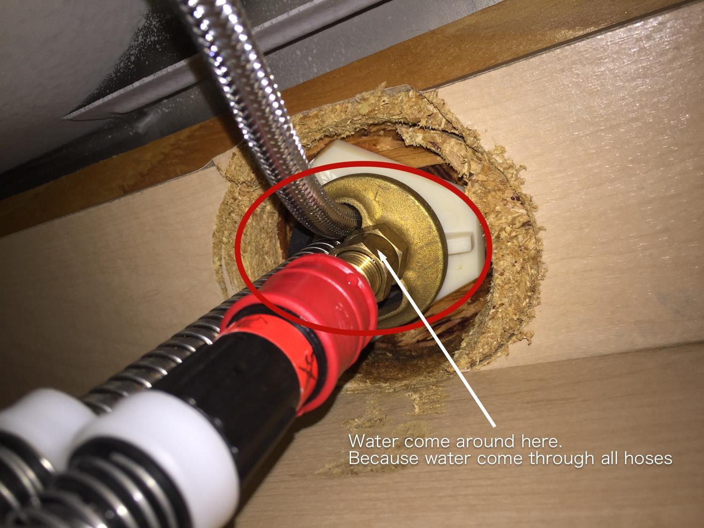 grohe single handle kitchen faucet leak
