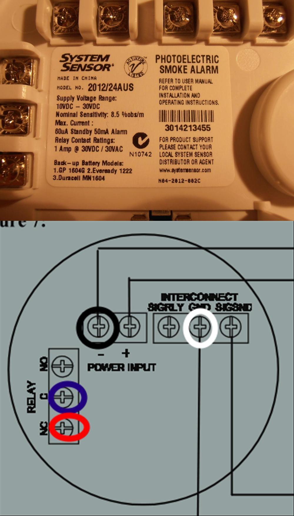 medium resolution of home fire alarm wiring