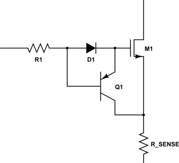 how to do a simple overcurrent protection circuit breaker circuit