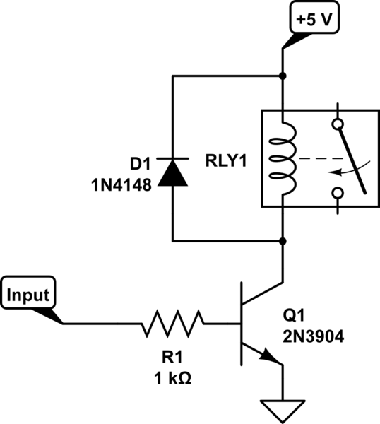 Problem with relay current requirement and how to increase