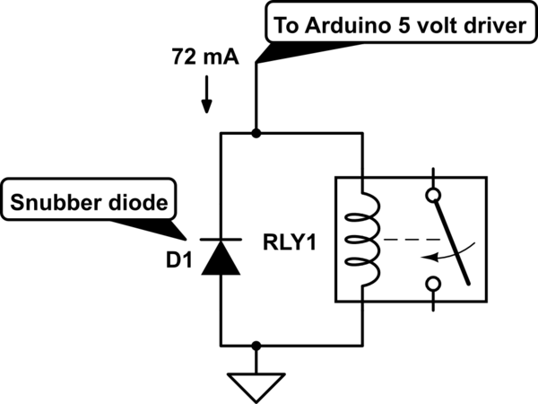 Resistor needed for: Arduino Micro + 12V Pump + HF3FA/005
