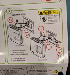 instructions from casa connect for the caleo thermostat electrical wiring thermostat [ 2459 x 3279 Pixel ]