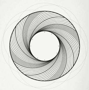 draw circles math geogebra adapted olaf geometry dribbble muller created mathematics stack