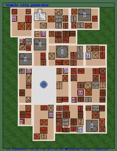 Random Town Map Generator : random, generator, Generation, Algorithms, Development, Stack, Exchange