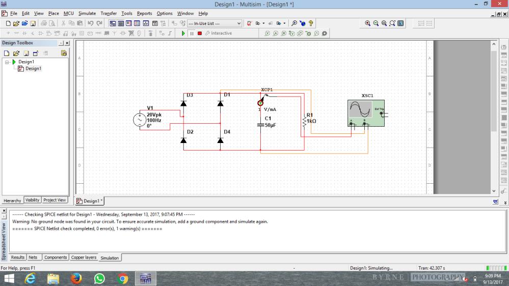 medium resolution of current through the smoothing capacitor in bridge rectifier
