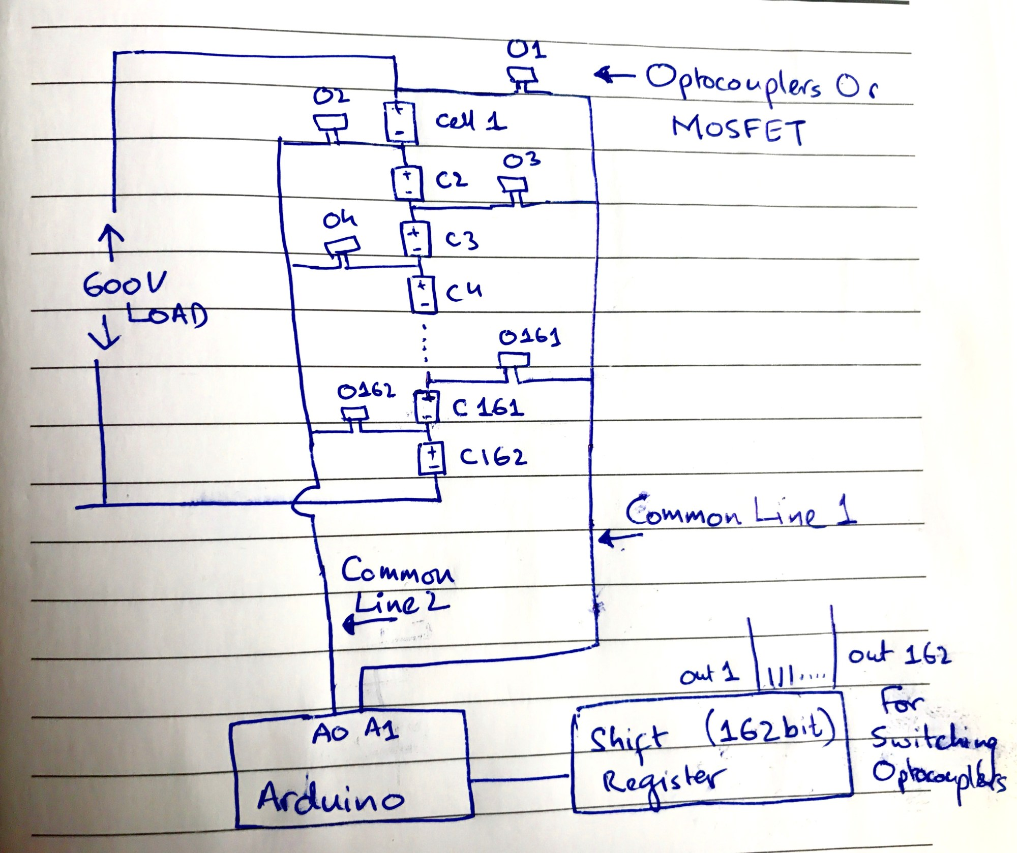 hight resolution of hand drawn circuit diagram for bms