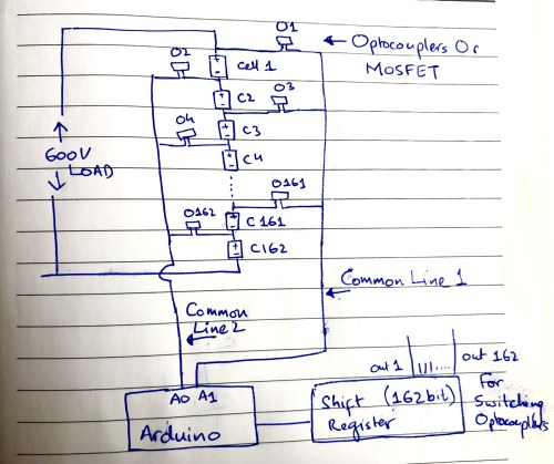 small resolution of hand drawn circuit diagram for bms