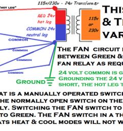 5 wire thermostat wiring diagram [ 1599 x 557 Pixel ]
