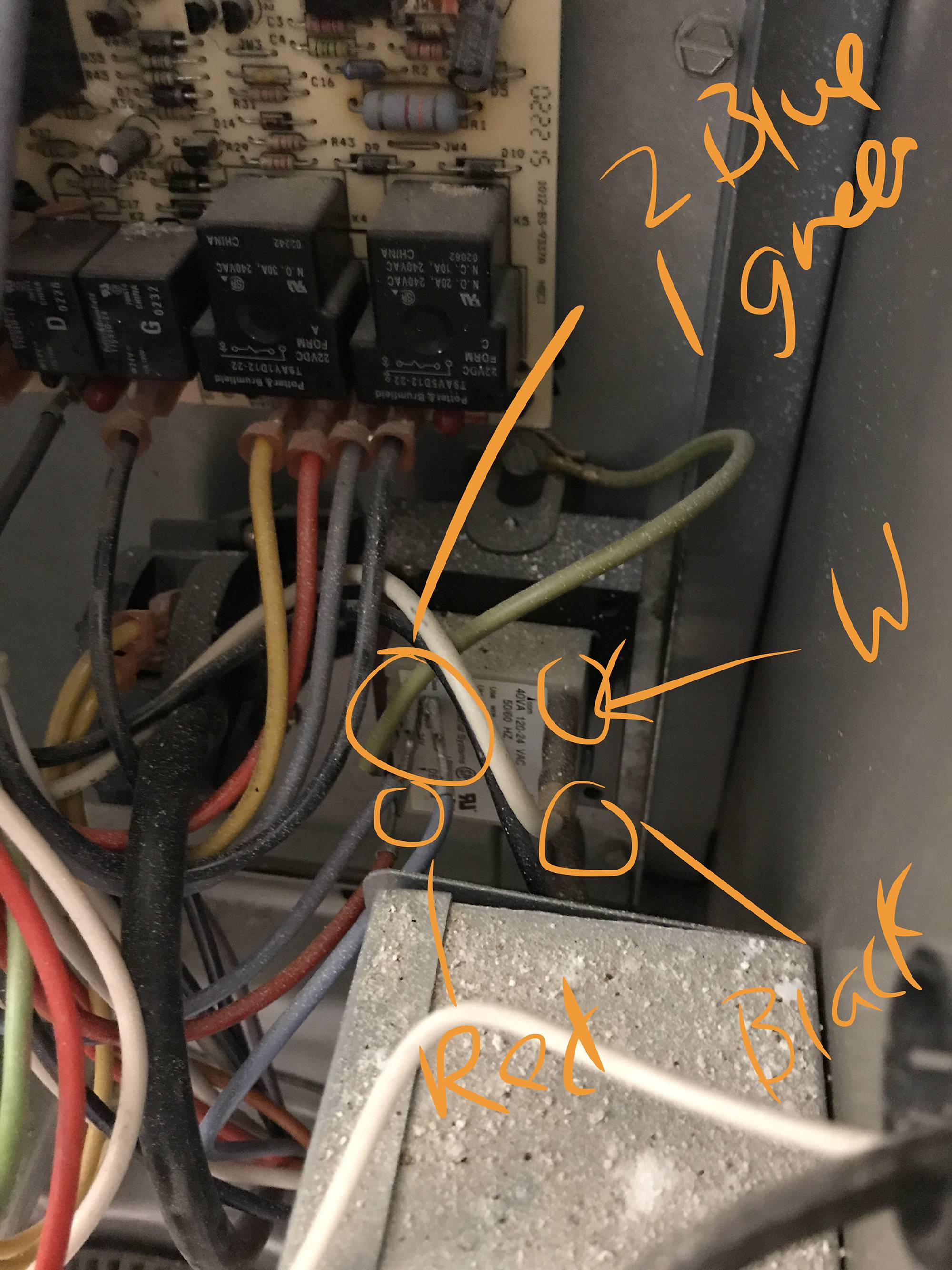 hight resolution of adding a c common wire to my goodman janitrol furnace home wiring on janitrol furnace wiring on janitrol furnace thermostat