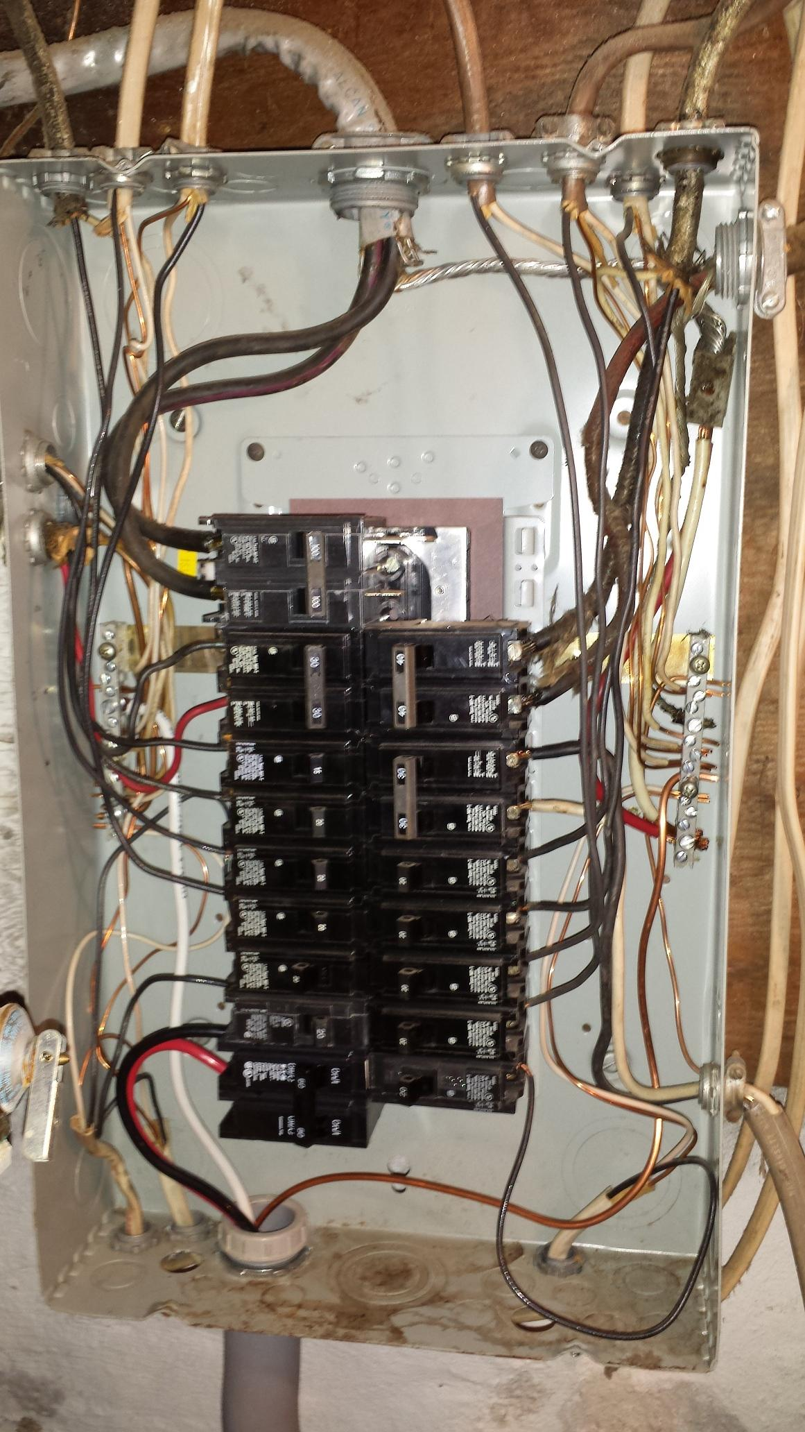 hight resolution of electrical panel is the wiring in this subpanel correct home wiring a new sub panel in to get 240 wiring a new sub panel